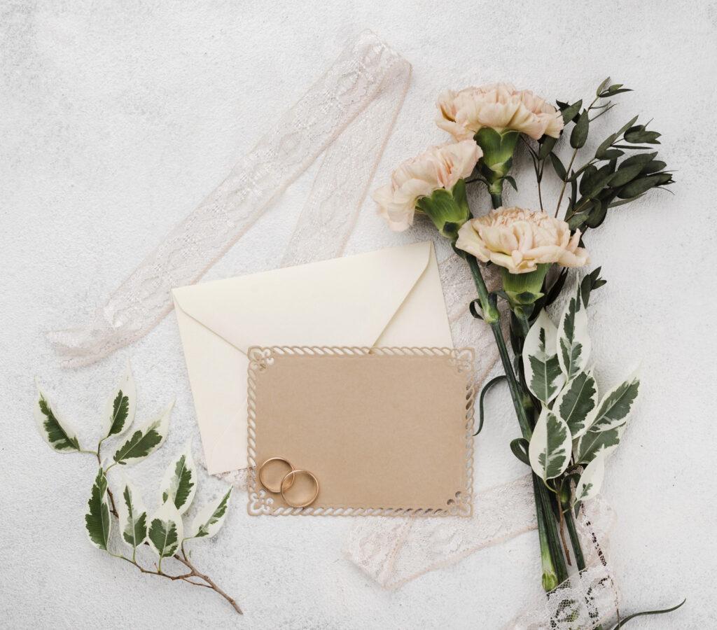 set di matrimonio coordinato