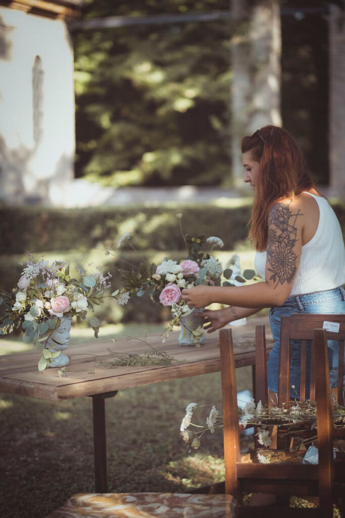 allestimenti floreali per matrimonio