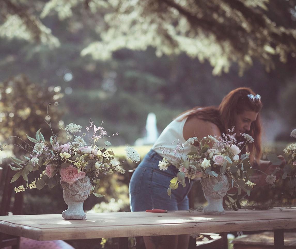 allestimento floreale per matrimonio